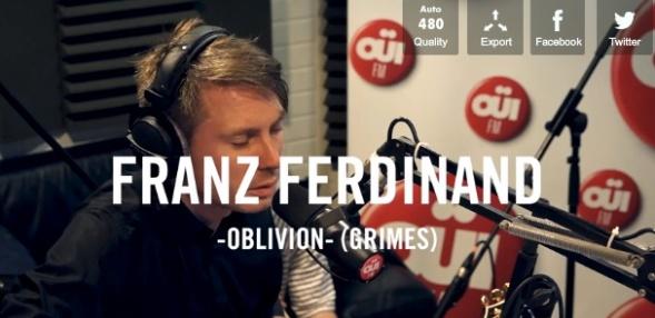 Franz Ferdinand.Grimes